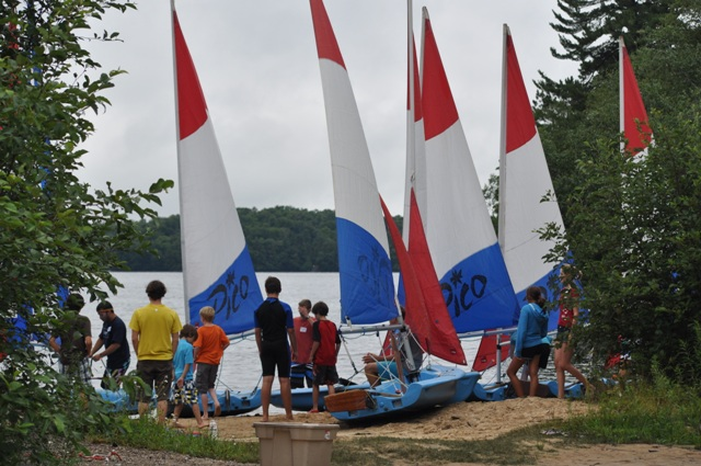 Boom Sailing School hosted at Billie Bear